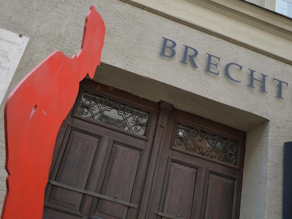 Brecht in Augsburg Brechthaus