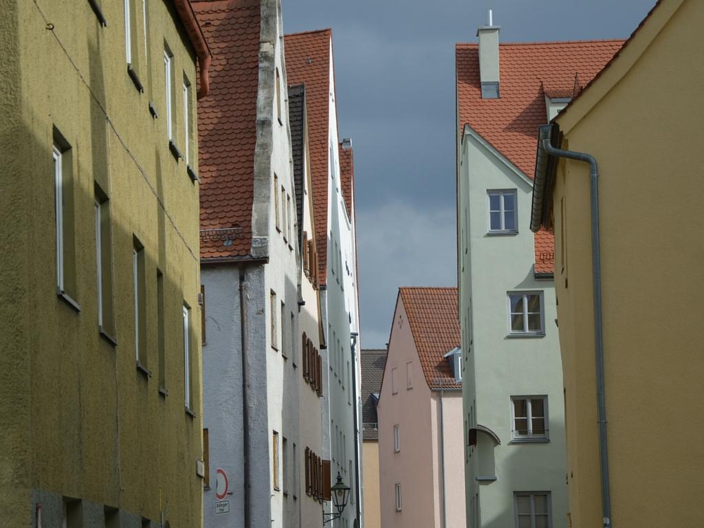 Brecht in Augsburg Jakobervorstadt