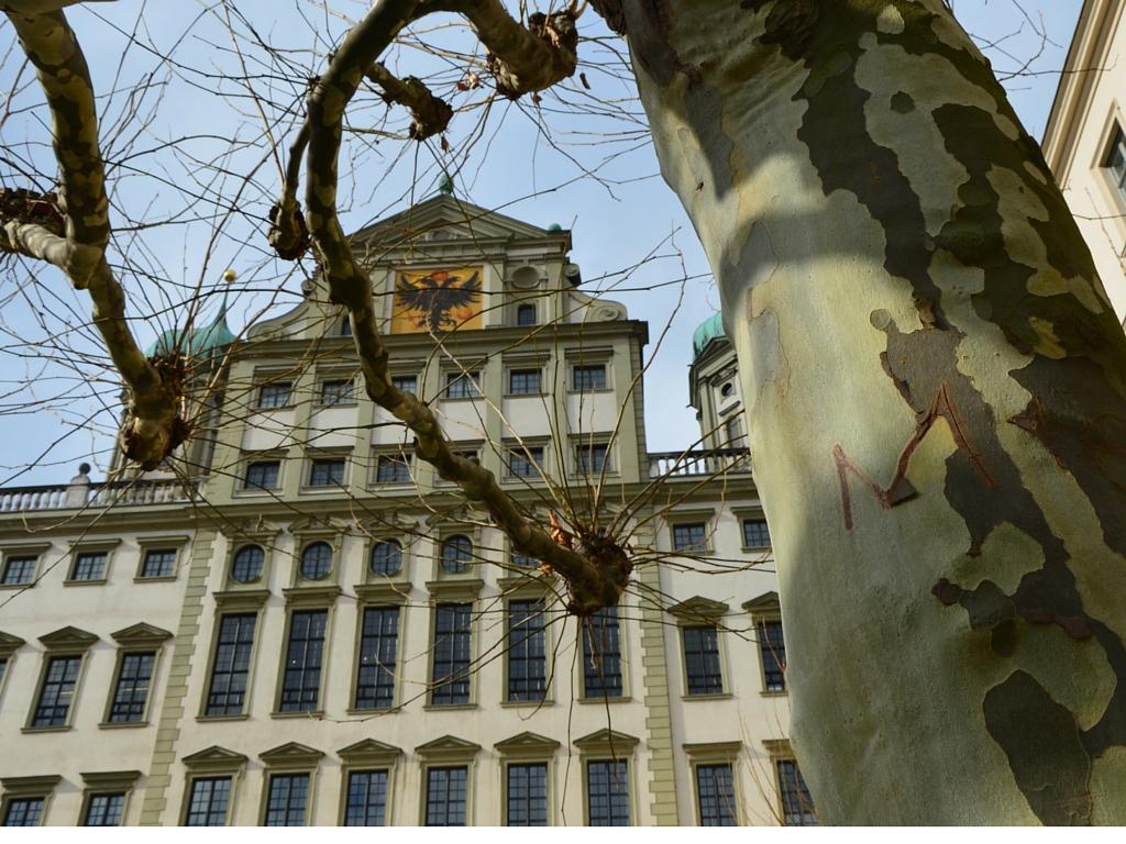 Brecht in Augsburg Rathaus