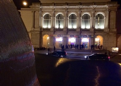 Das Theater in Augsburg am Abend der Langen Brechtnacht 2016