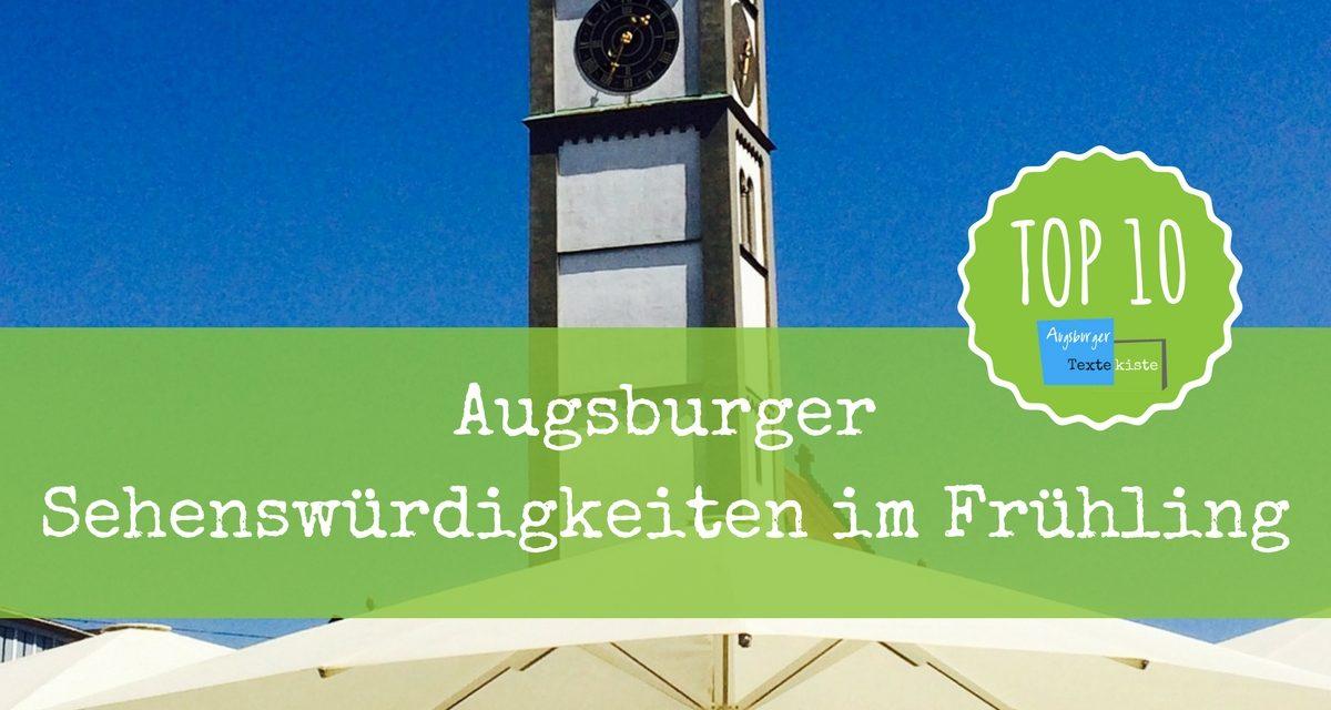außergewöhnliche Farbpalette Ruf zuerst Turnschuhe für billige Augsburg - Sehenswürdigkeiten: Top 10 für den Frühling ...