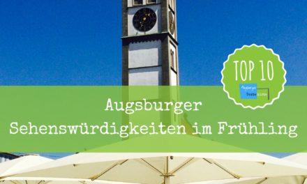 Augsburg – Sehenswürdigkeiten: Top 10 für den Frühling