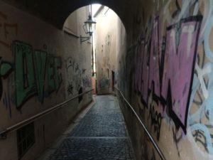 Augsburg Sehenswürdigkeiten Graffiti