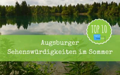 Sehenswürdigkeiten in Augsburg – Top 10 für den Sommer