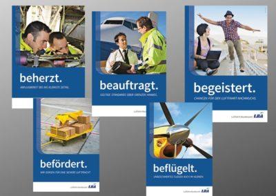 Referenz Plakatkampagne Bundesamt LBA